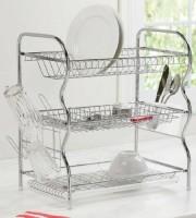 Stainless steel 3 lair dish rack